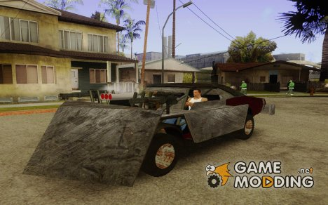Infernal bulldozer для GTA San Andreas