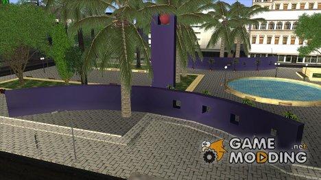Новая площадь Першинг (Pershing Square) для GTA San Andreas