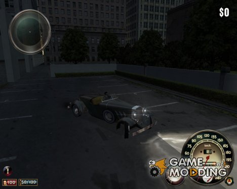 Lassiter V16 Roadster - bright light for Mafia: The City of Lost Heaven