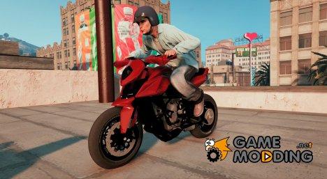 Mv Agusta Rivale 800cc v1.5 for GTA 5