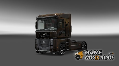 Скин для Renault Magnum Ева for Euro Truck Simulator 2