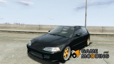 Honda Civic Tuned for GTA 4