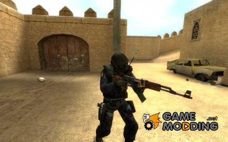 OddFlame's Realistic/Enhanced SAS Skin для Counter-Strike Source