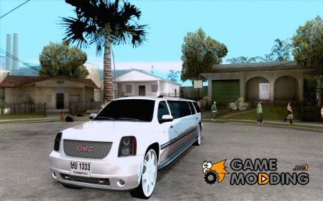 GMC Yukon 2008 для GTA San Andreas
