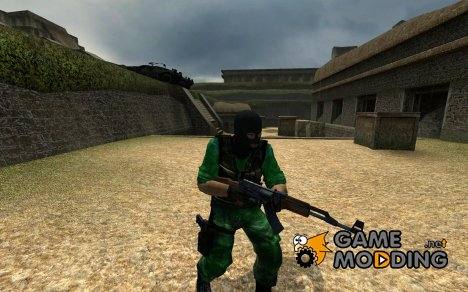 MGS3 Moss Terrorist для Counter-Strike Source