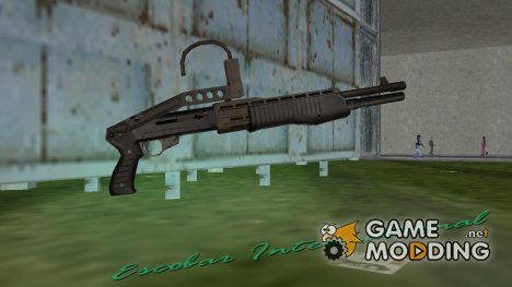 Новый SPAS 12 for GTA Vice City