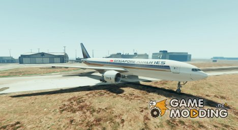 Boeing 777-200 Pack (Singapore, Emirates, British Airways) for GTA 5