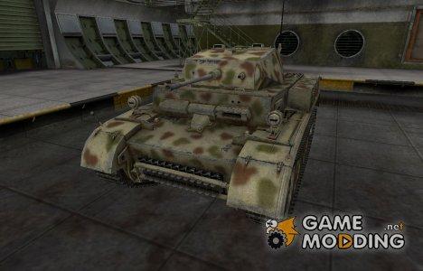 Исторический камуфляж PzKpfw II Luchs for World of Tanks