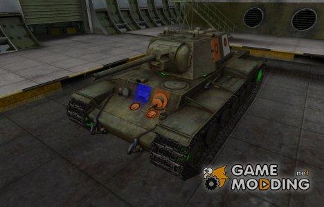 Качественный скин для КВ-1 для World of Tanks