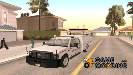 2012 Ford F-250 San Andreas DOT Highway Helper для GTA San Andreas
