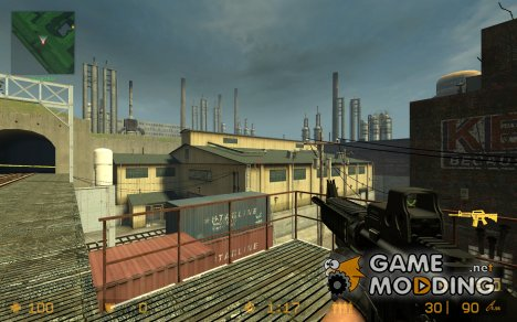 Metal Gear Solid 4 M4A1 для Counter-Strike Source