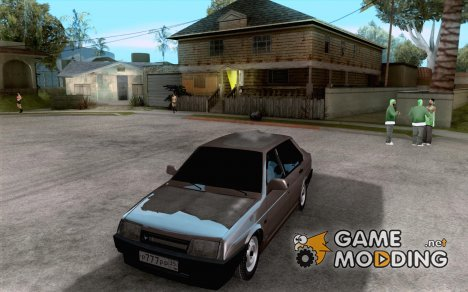 ВАЗ 21099 Зимняя для GTA San Andreas
