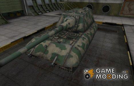Скин для немецкого танка JagdPz E-100 для World of Tanks