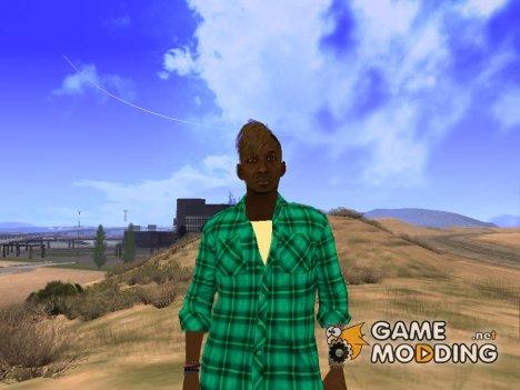 Парикмахер из GTA 5 for GTA San Andreas