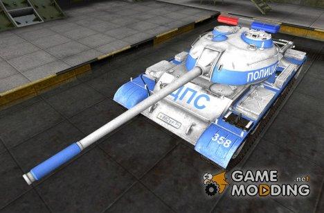 "Ремоделлинг для Type 59 ""Полиция"" для World of Tanks"