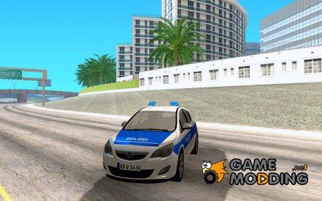 Opel Astra Tourer 2011 - German Polie для GTA San Andreas