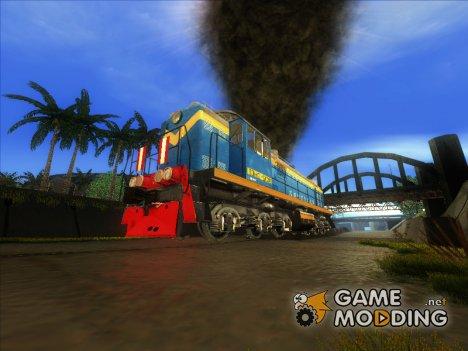 Пак Ж/Д транспорта by Бабайка для GTA San Andreas