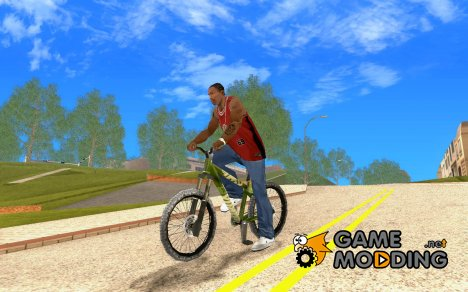 Hardy 3 Dirt Bike for GTA San Andreas
