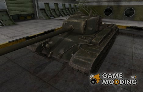 Шкурка для американского танка T32 for World of Tanks