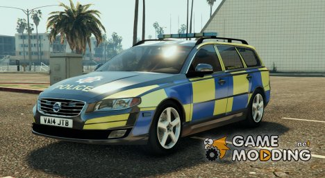 Essex Police Volvo V70 for GTA 5