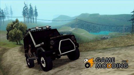 УАЗ-469 - Иван Брагинский Itasha for GTA San Andreas
