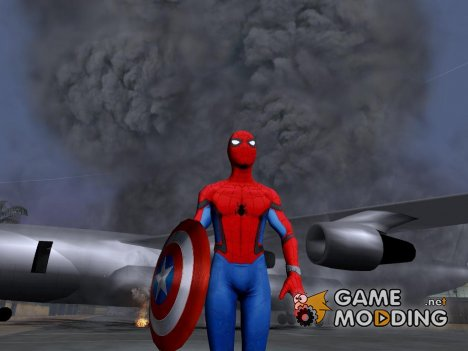 Spiderman Civil War для GTA San Andreas