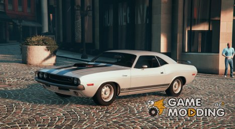 1970 Dodge Challenger RT 440 Six Pack для GTA 5