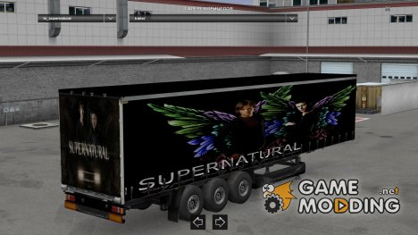 Supernatural trailer for Euro Truck Simulator 2