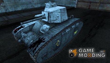 Шкурка для BDR G1B (Вархаммер) для World of Tanks