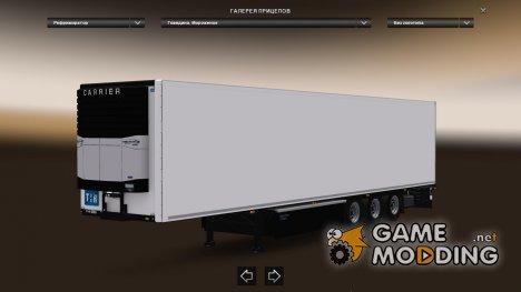 Krone Coolliner Trailer для Euro Truck Simulator 2