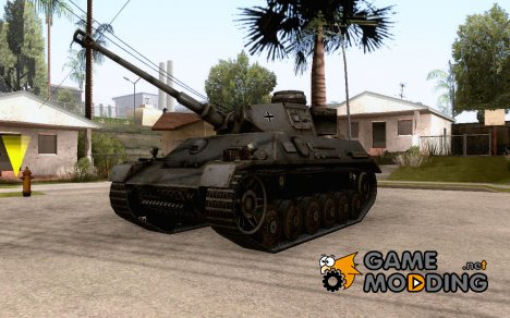 Pz III/IV for GTA San Andreas