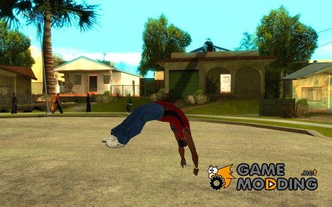 Parkour 40 mod for GTA San Andreas