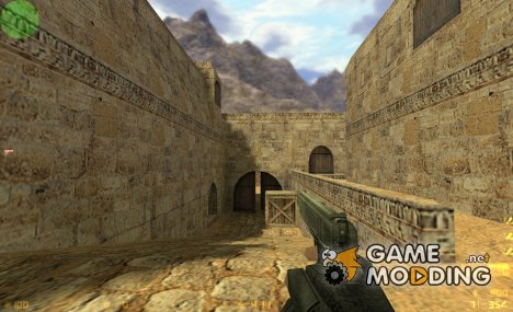 Twinkies Colt 1911 on eXes MW2 Animations для Counter-Strike 1.6