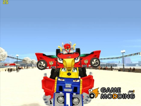 High Octane Megazord для GTA San Andreas