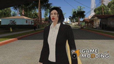 GTA Online Random 3 (female) для GTA San Andreas