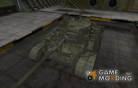 Исторический камуфляж M46 Patton for World of Tanks