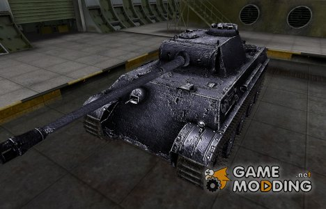 Темный скин для PzKpfw V Panther for World of Tanks