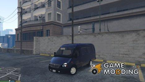 ГАЗ-2705 ГАЗель for GTA 5