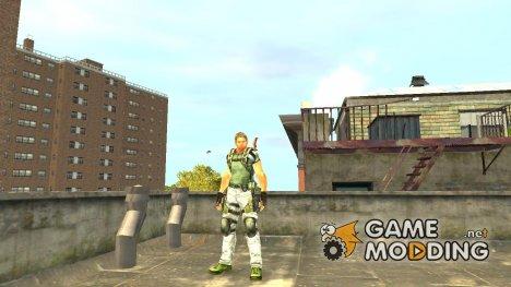 Крис Редфилд v.1 для GTA 4