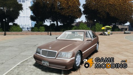 Mercedes Benz SL600 W140 1998 performance shafter style для GTA 4