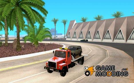 ГАЗ 3309 Эвакуатор for GTA San Andreas