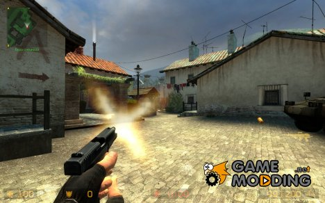 Glock M249 для Counter-Strike Source