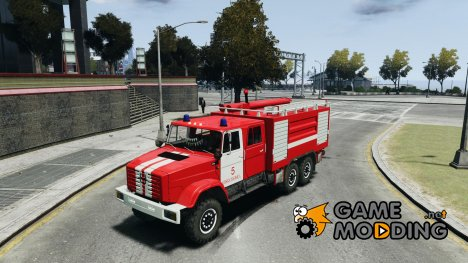 ЗИЛ 433474 Пожарный for GTA 4