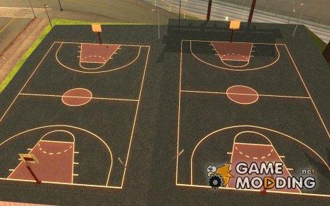 Новая баскетбольная площадка for GTA San Andreas