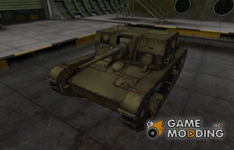 Шкурка для АТ-1 в расскраске 4БО для World of Tanks