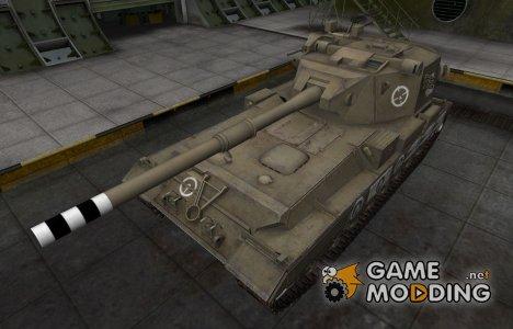 Зоны пробития контурные для FV215b (183) for World of Tanks