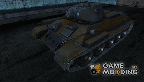 шкурка для T-34 от SlapnBadKids для World of Tanks