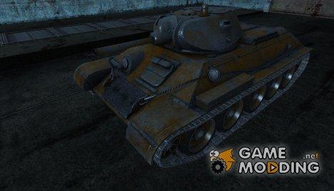 шкурка для T-34 от SlapnBadKids for World of Tanks