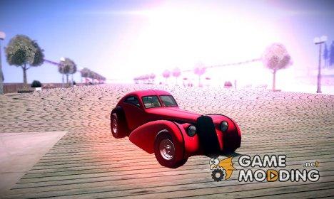 Z-Type GTA V для GTA San Andreas