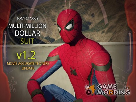 Tony Stark's Multi-Million Dollar Suit (Hacked) 1.2 для GTA 5